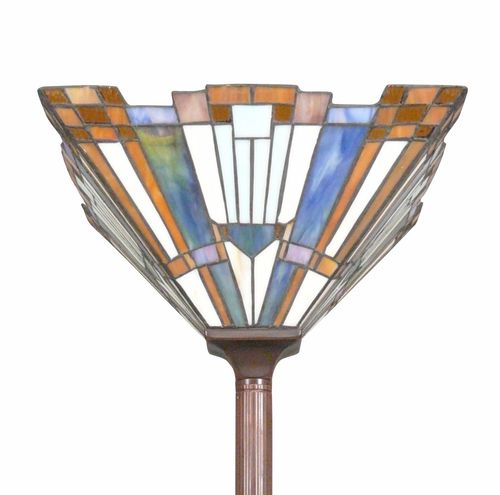 Lampadaire style Tiffany art déco