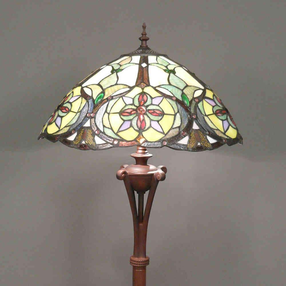 Lampade Tiffany Da Tavolo: Farfalla abat jour lampada da comodino ...