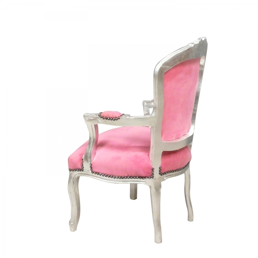 Armchair baroque style of louis xv baroque armchairs - Chaise baroque rose ...