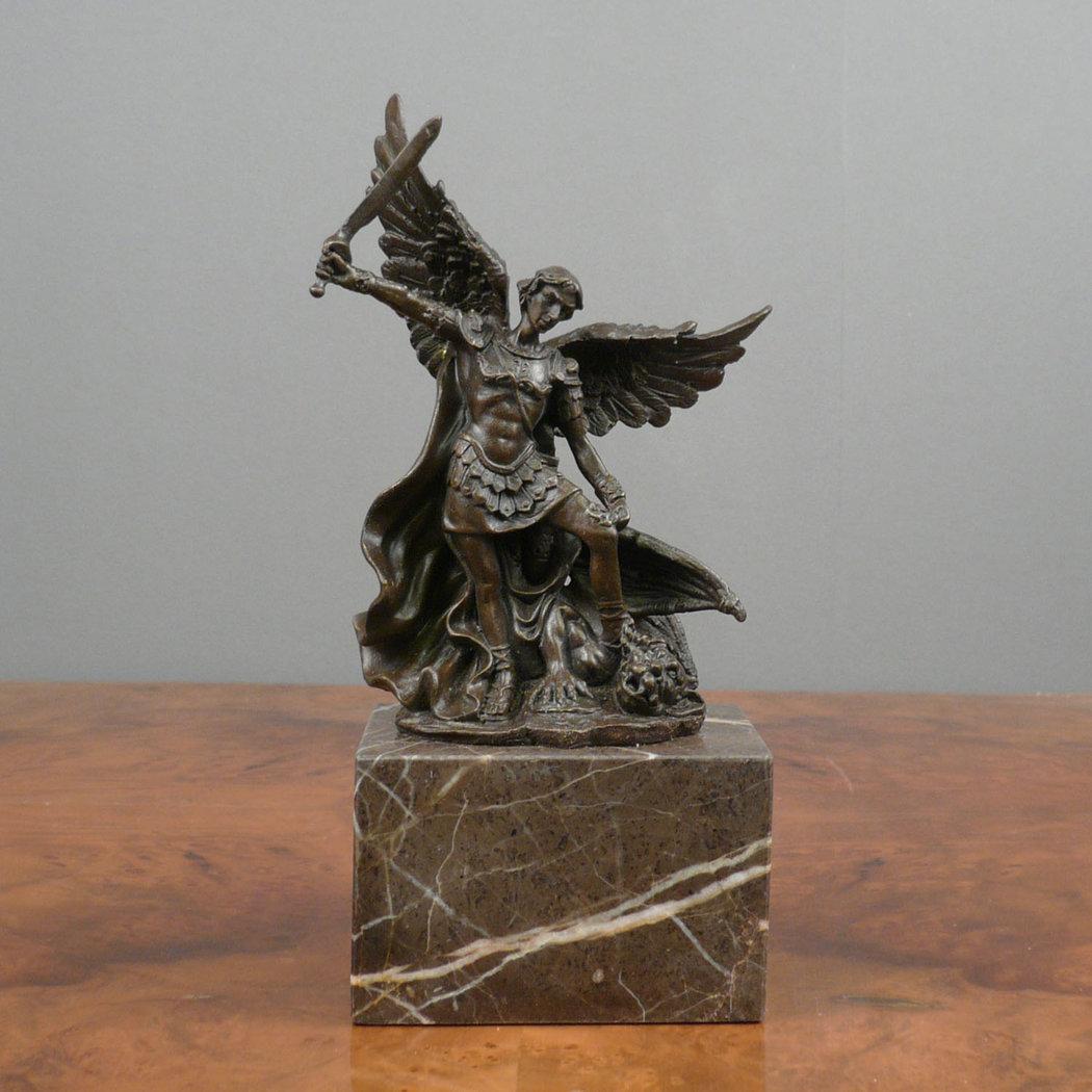 Bronze Sculpture Archangel Michael Statues