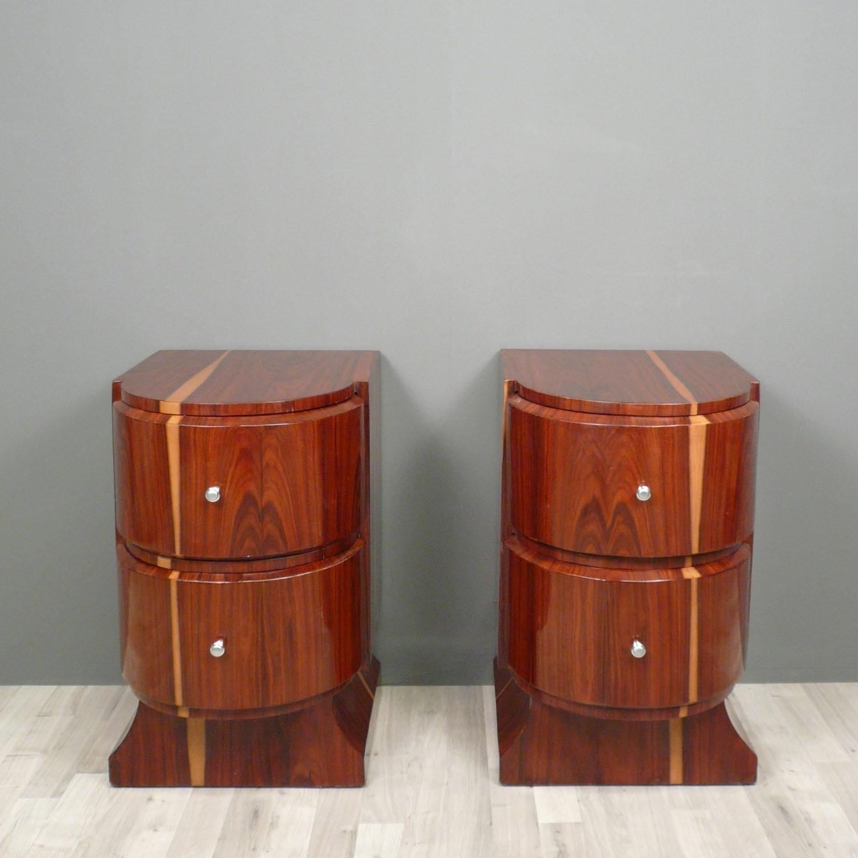 Coppia di comodini art deco mobili art deco - Art deco mobili ...