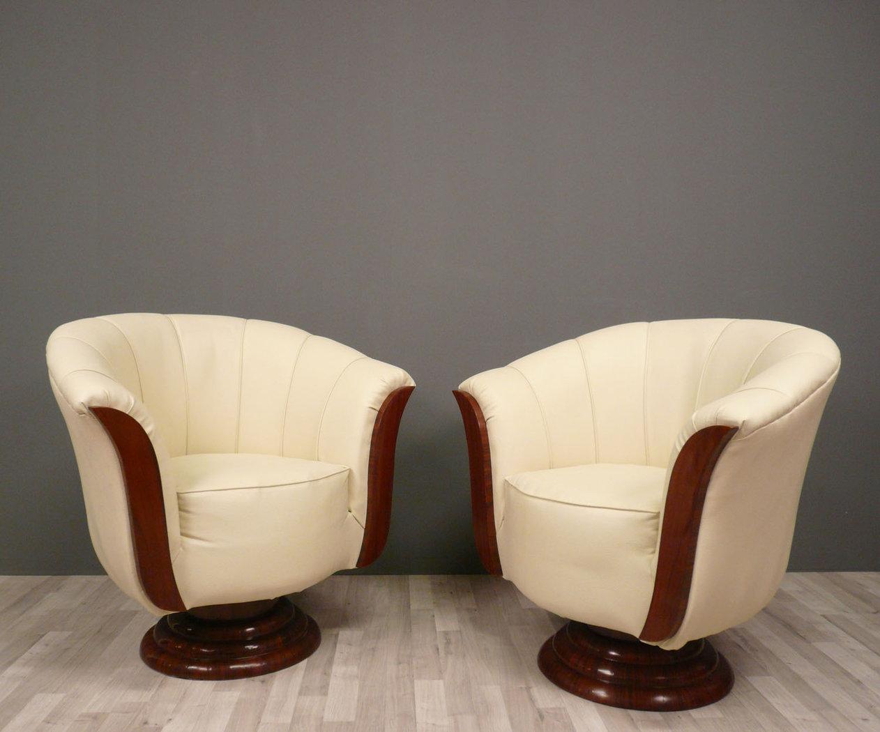 Pair of armchairs art deco art deco baroque for Art decoration fr