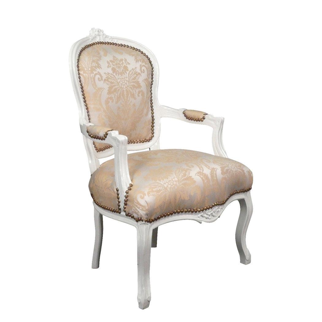 Fauteuil louis xv beige meuble louis xv - Fauteuil style baroque pas cher ...