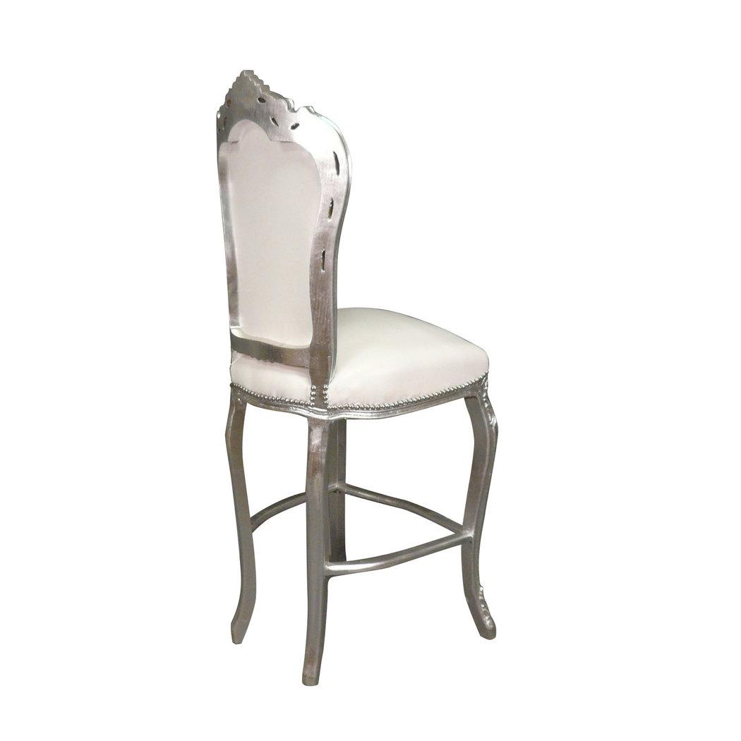 Chaise baroque de bar haute fauteuil baroque for Chaise de bar pliable