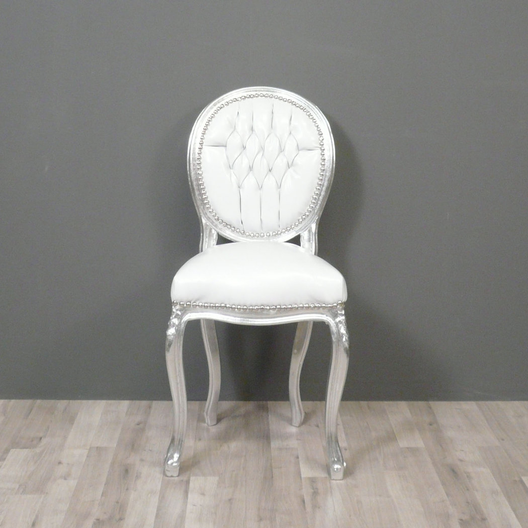 Chaise style baroque for La chaise blanche