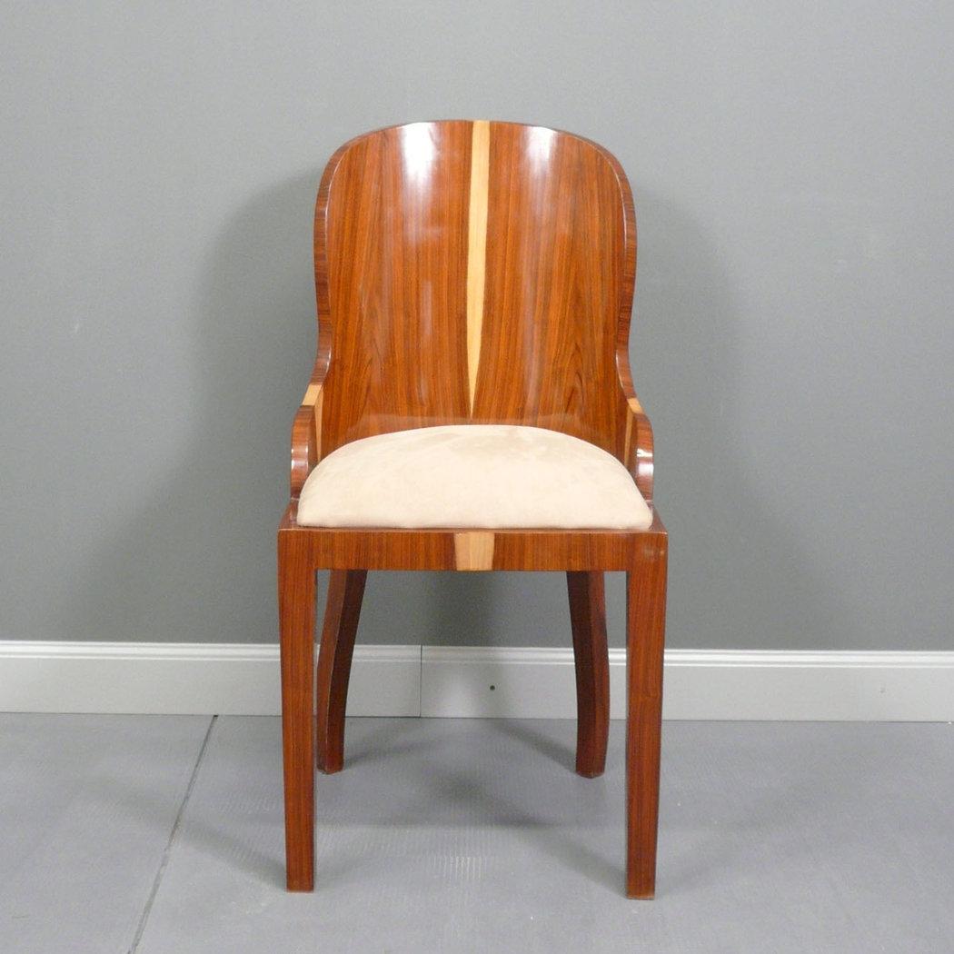Art deco della sedia mobilia di art deco for Sedia decor