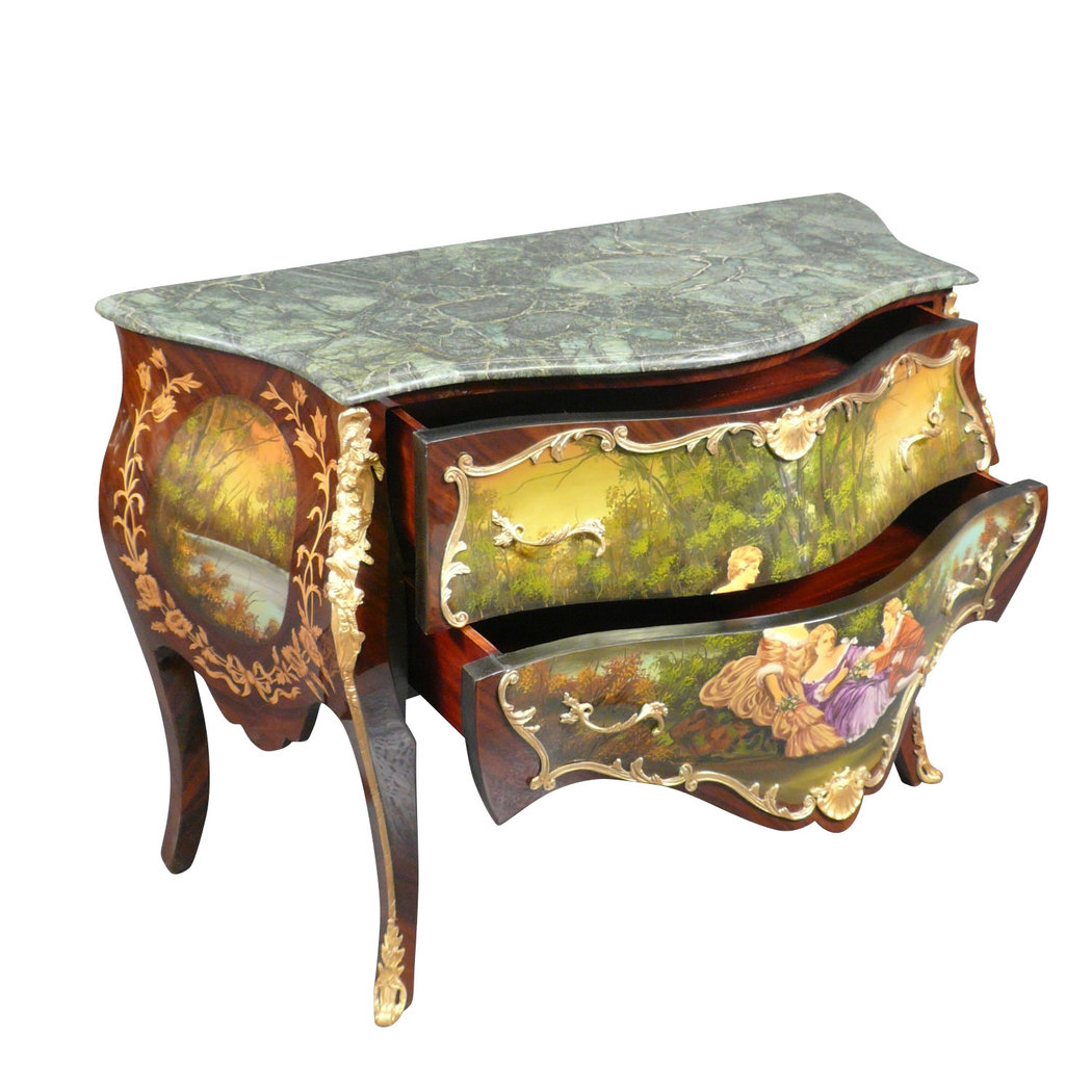 louis xv commode style furniture. Black Bedroom Furniture Sets. Home Design Ideas
