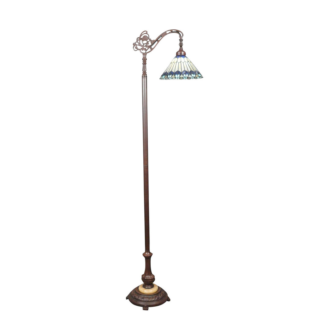 tiffany peacock floor lamp tiffany lamps bronze sculptures. Black Bedroom Furniture Sets. Home Design Ideas