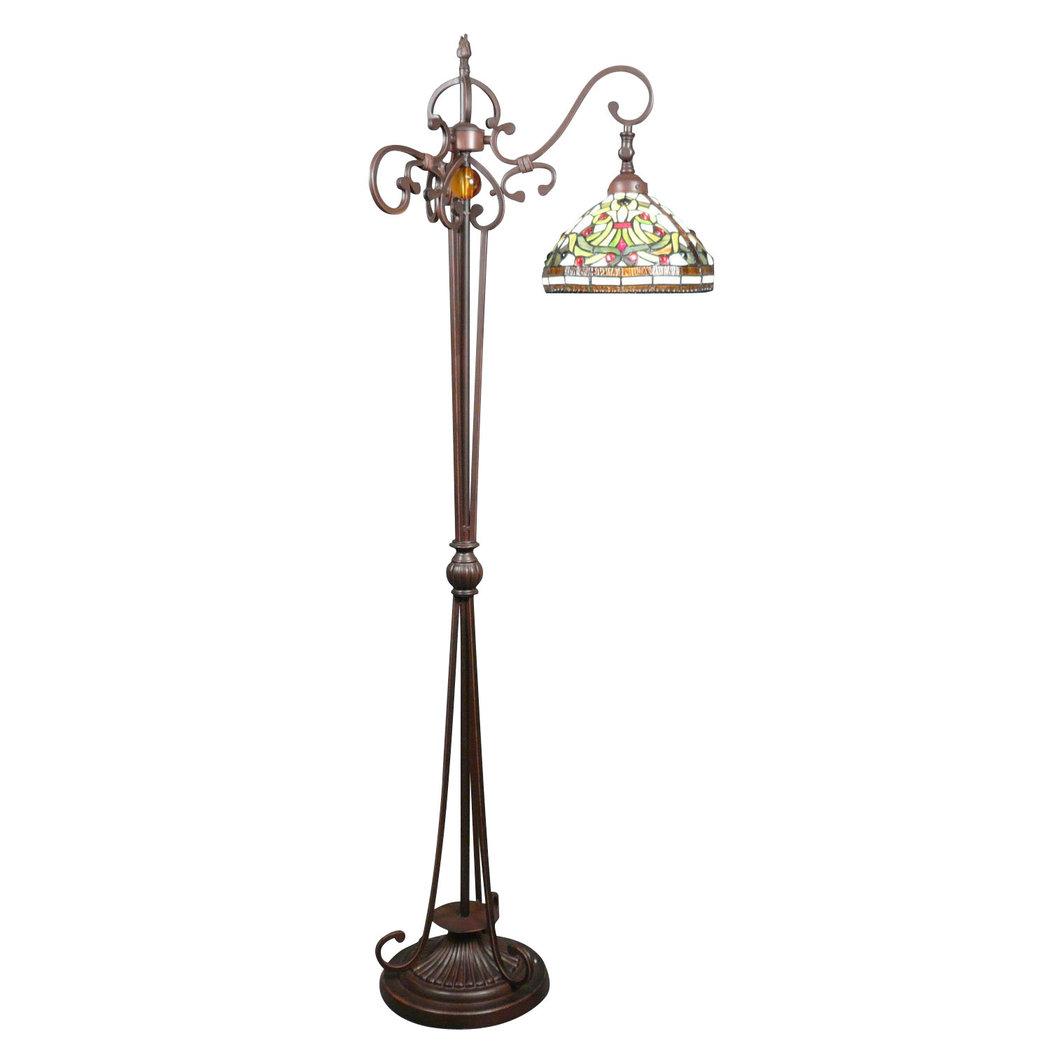 lampadari indiani : Lampada da terra Tiffany Indiana - lampada e scultura