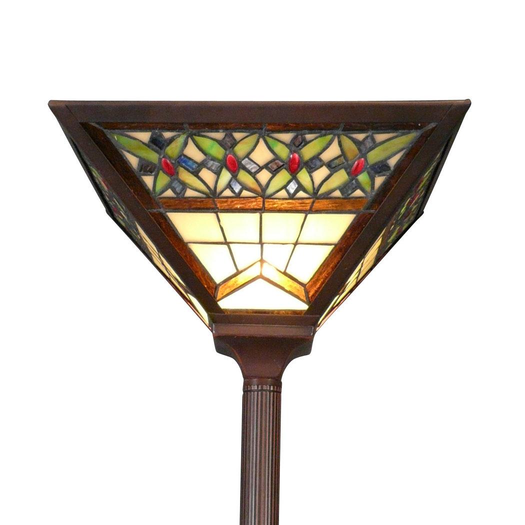 tiffany art deco floor lamp tiffany lamps bronze statues baroque. Black Bedroom Furniture Sets. Home Design Ideas