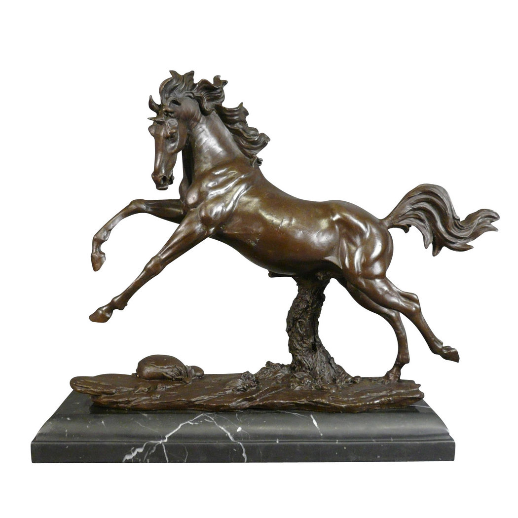 Bronze Statue Of A Horse Sculptures And Art Deco Furniture