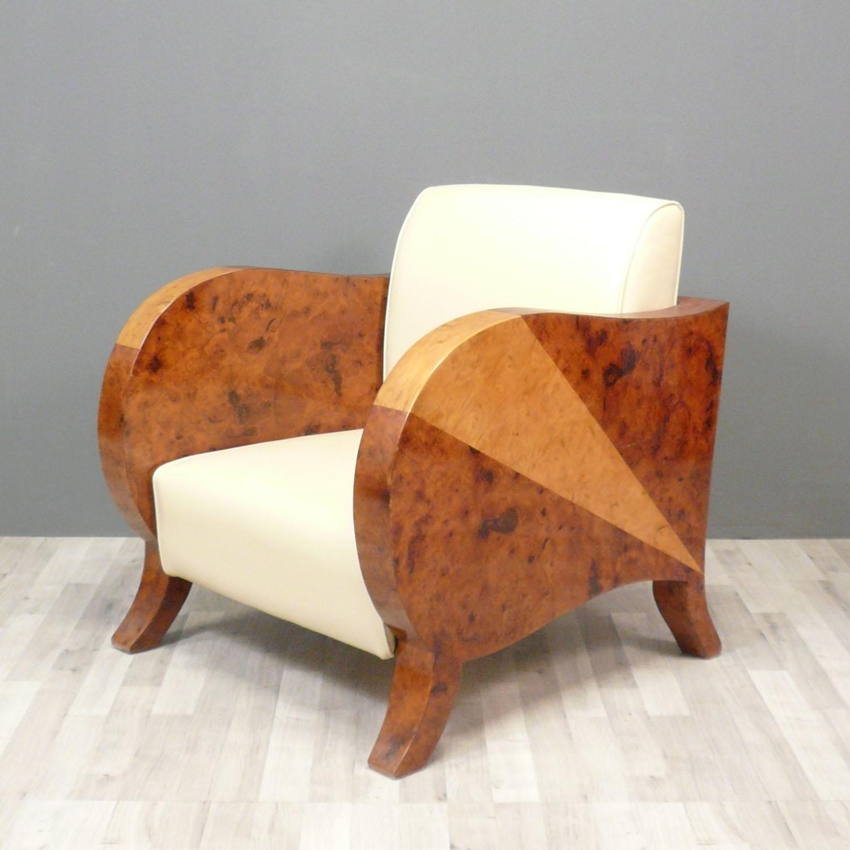 fauteuil club art d co meubles art d co. Black Bedroom Furniture Sets. Home Design Ideas
