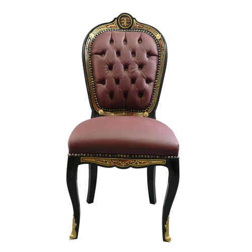chaise baroque meubles baroque. Black Bedroom Furniture Sets. Home Design Ideas