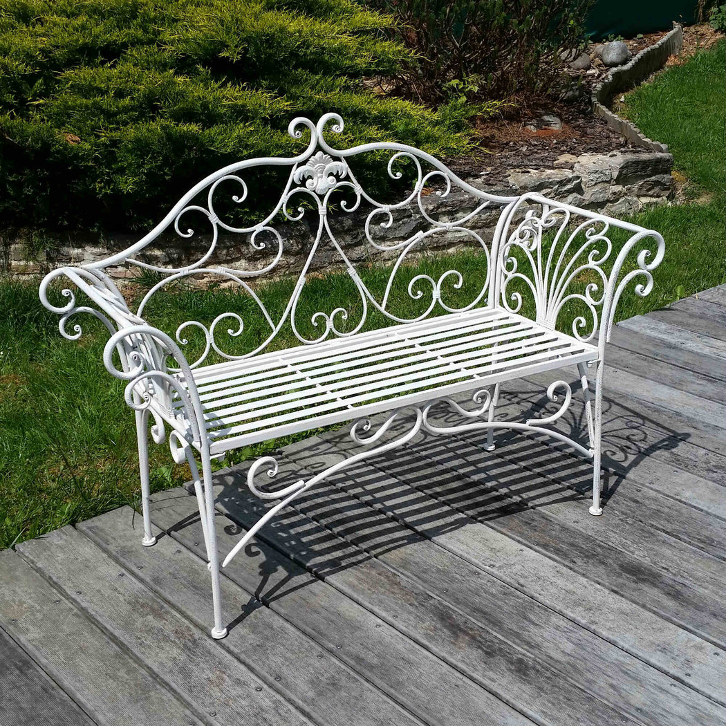 Magnificent Garden Bench Wrought Iron Andrewgaddart Wooden Chair Designs For Living Room Andrewgaddartcom