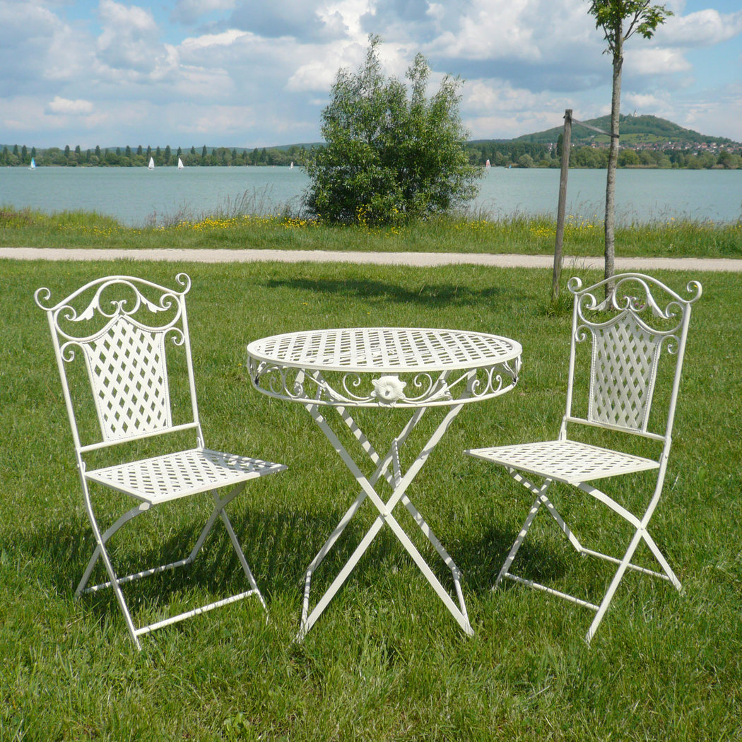 Wrought iron garden furniture tables chairs benches for Decoration fer forge pour jardin