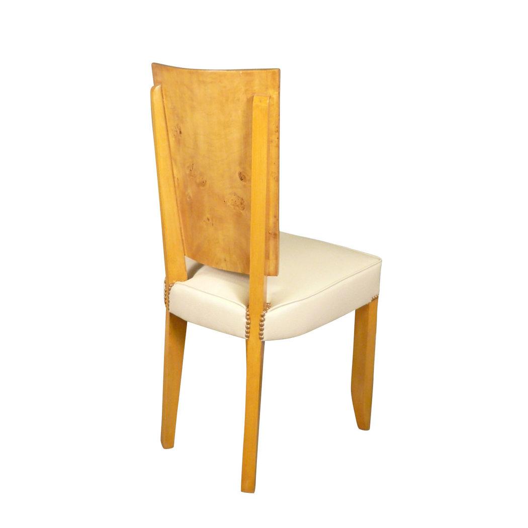 chaise art d co en loupe d 39 orme meubles art d co. Black Bedroom Furniture Sets. Home Design Ideas