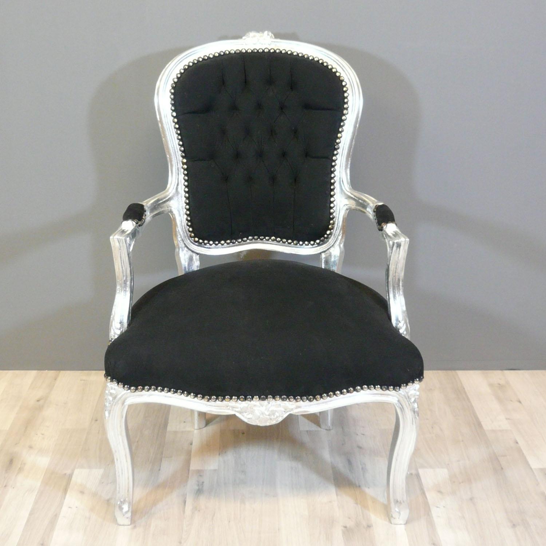 Fauteuil baroque style louis xv fauteuils baroques for Petit banc baroque
