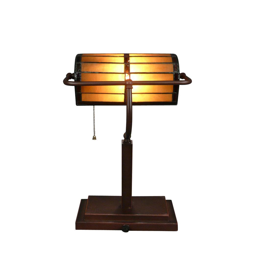 lampe tiffany de bureau ou de banque sculpture art d co. Black Bedroom Furniture Sets. Home Design Ideas
