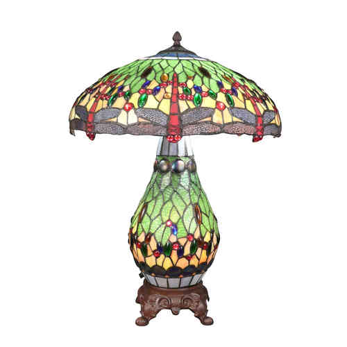 Tiffany lamp dragonfly
