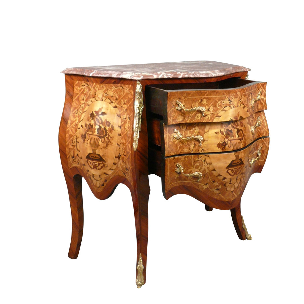 C moda luis xv muebles estilo art deco for Muebles estilo l