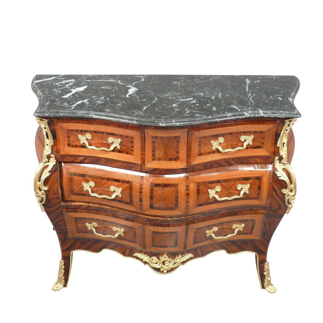 commode louis xv reproductions de meubles de style. Black Bedroom Furniture Sets. Home Design Ideas