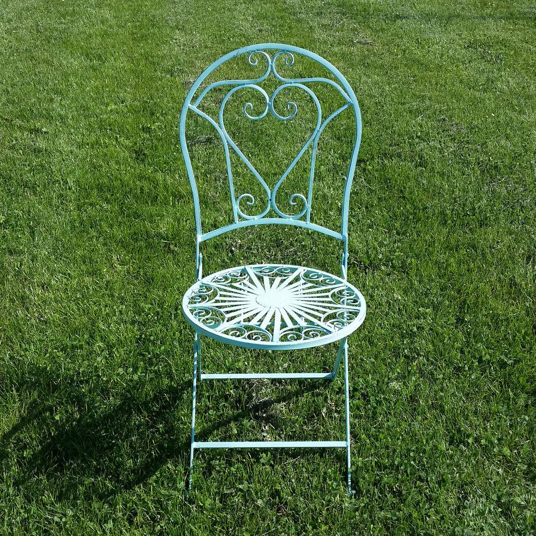 Muebles de jard n de hierro forjado mesa silla banco for Muebles de jardin de hierro