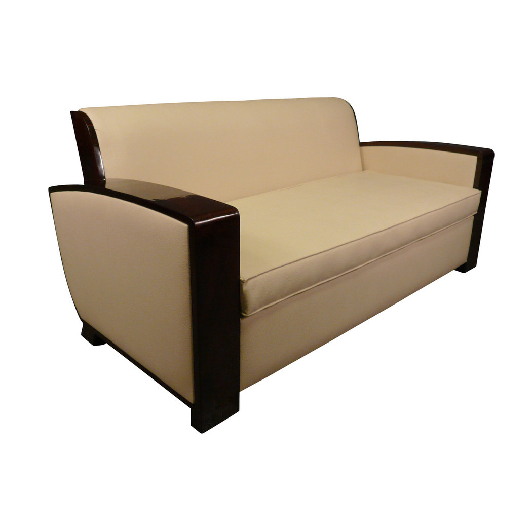 Canap art d co paris mobilier art d co - Canape art deco cuir ...