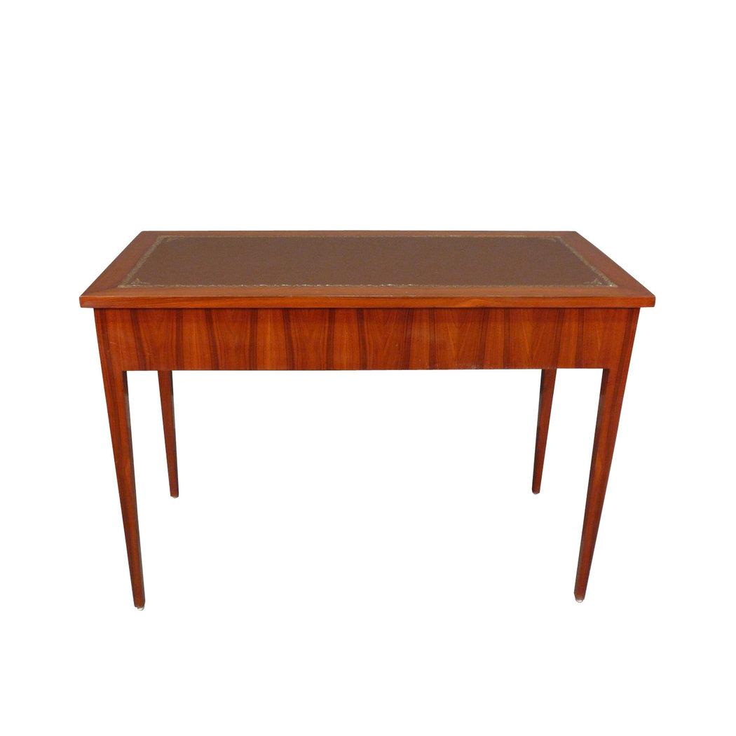 bureau louis xvi plat trois tiroirs meubles de style. Black Bedroom Furniture Sets. Home Design Ideas