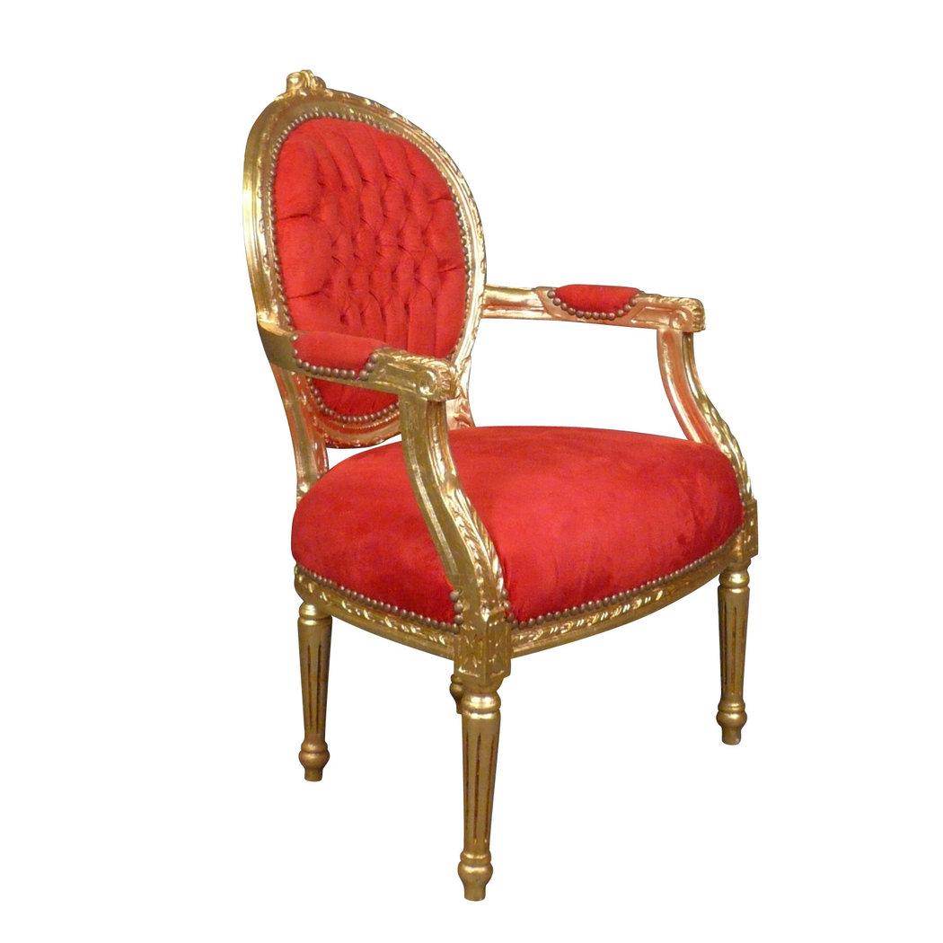 fauteuil louis xvi rouge pas cher meuble louis xv. Black Bedroom Furniture Sets. Home Design Ideas