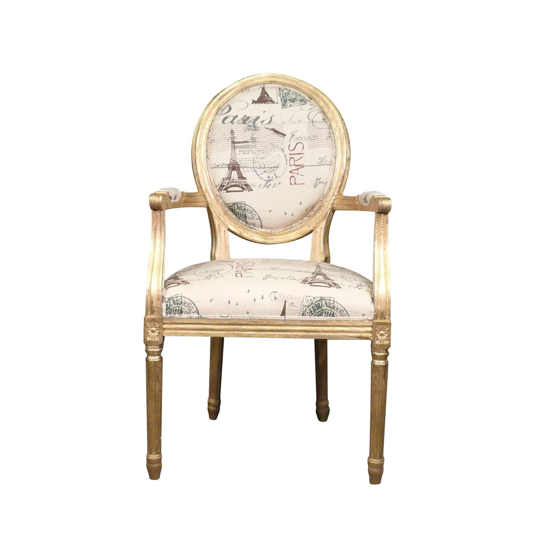 fauteuil louis xvi dor meuble baroque. Black Bedroom Furniture Sets. Home Design Ideas