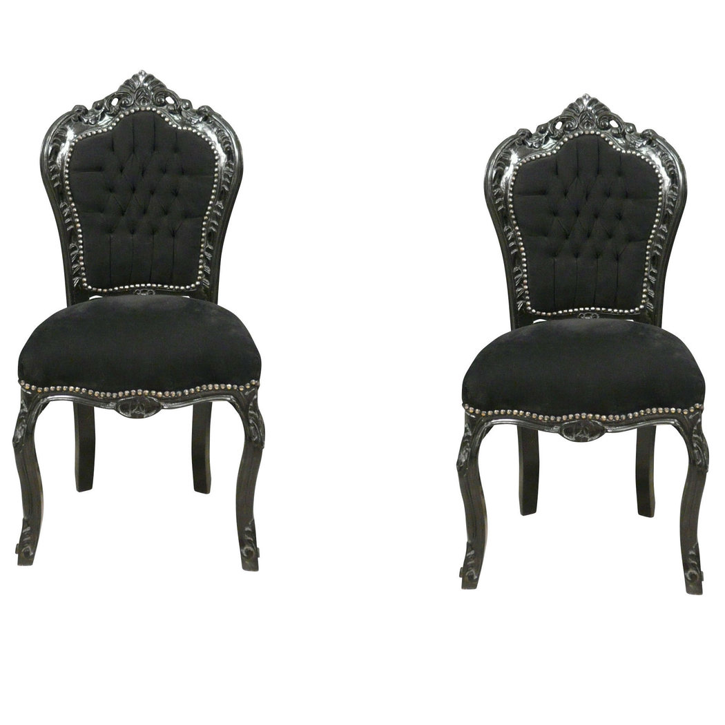 chaise baroque prix. Black Bedroom Furniture Sets. Home Design Ideas