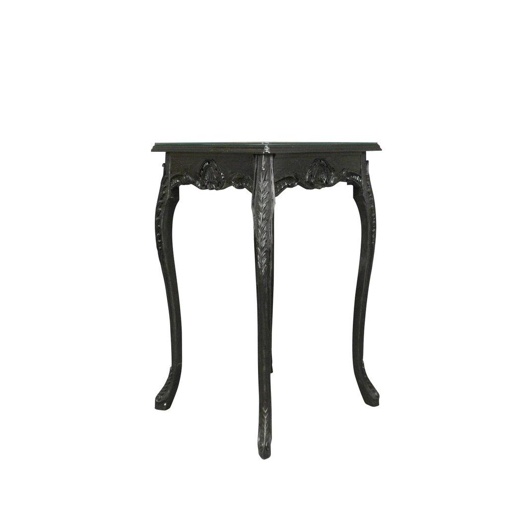 Tavolo alto barocco nero - Mobili in stile barocco