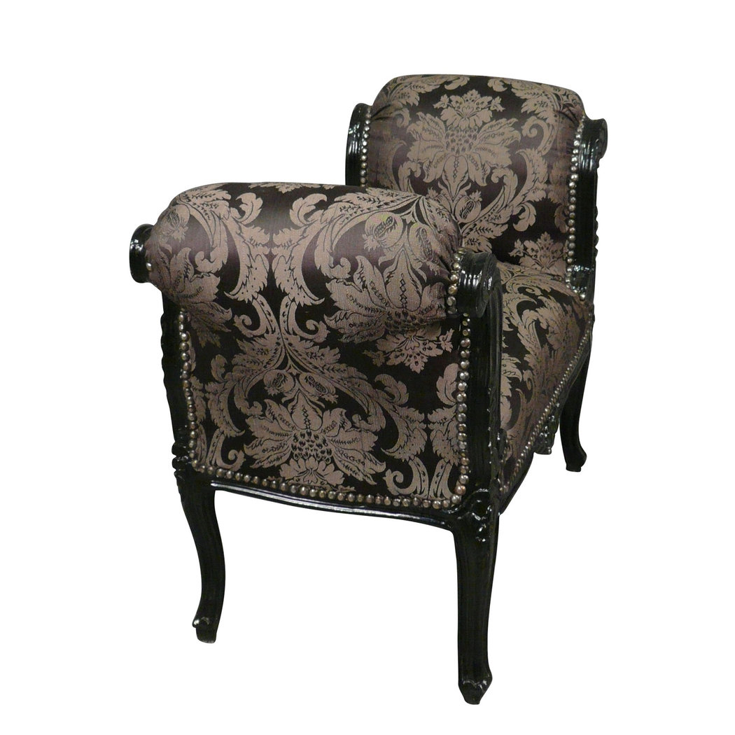 barock bank schwarz barock m bel. Black Bedroom Furniture Sets. Home Design Ideas