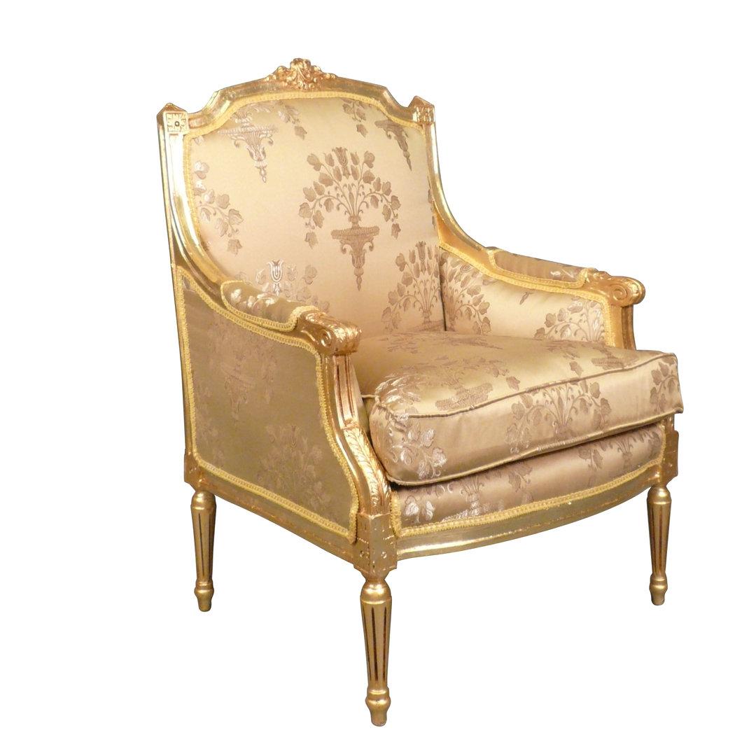 fauteuil berg re louis xvi fauteuils louis xv. Black Bedroom Furniture Sets. Home Design Ideas