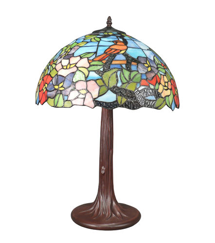 Tiffany lamp bird