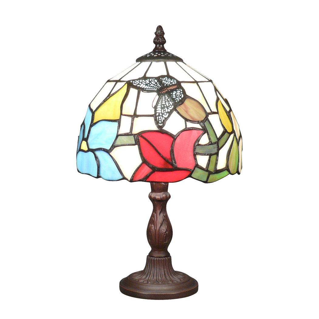 Lampe tiffany oiseau