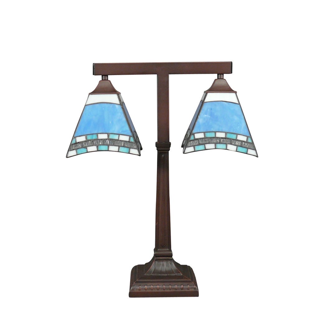 lampe de bureau tiffany monaco lampes tiffany. Black Bedroom Furniture Sets. Home Design Ideas