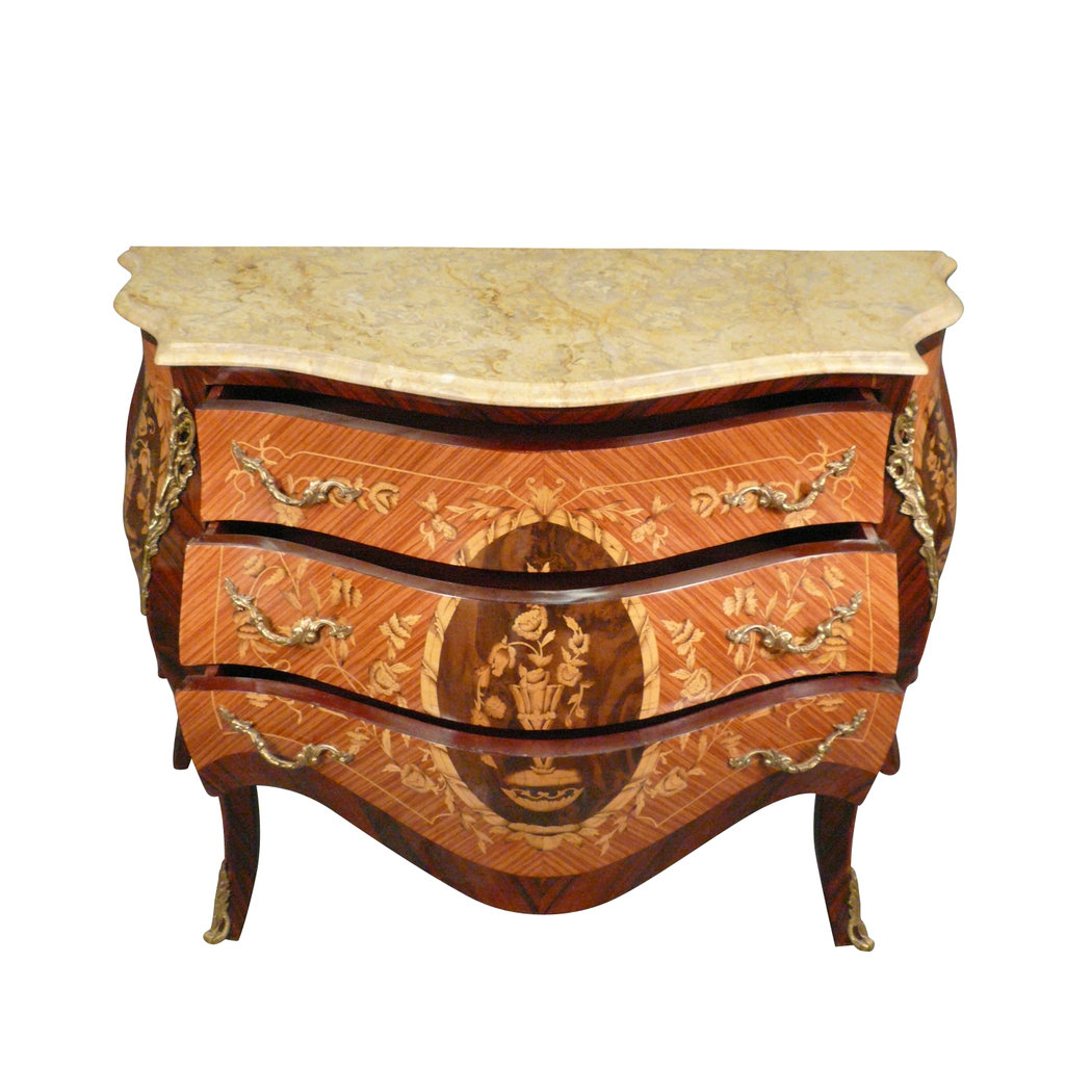 commode louis xv style ancienne mobilier de style. Black Bedroom Furniture Sets. Home Design Ideas