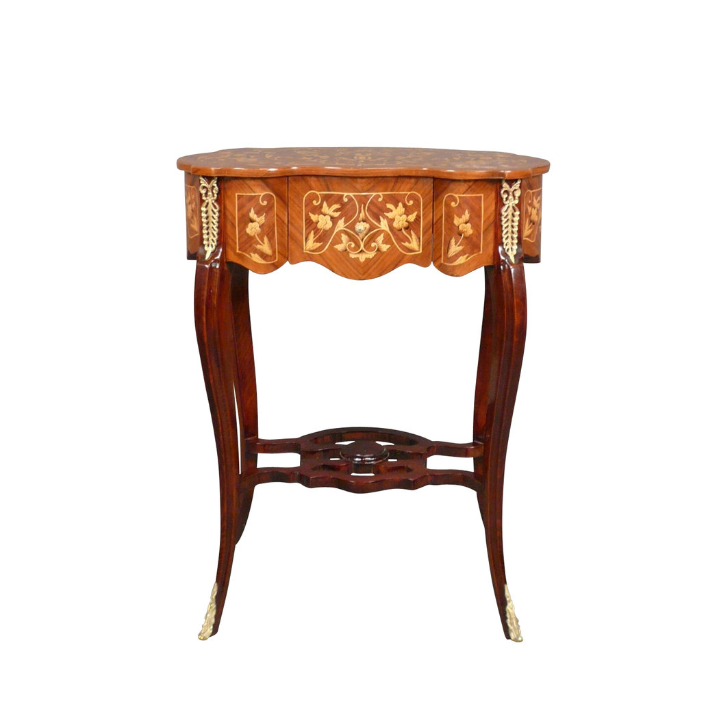 Mesa luis xv muebles de estilo for Muebles estilo l