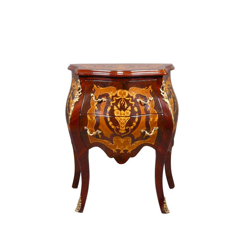 Commode Louis XV en acajou