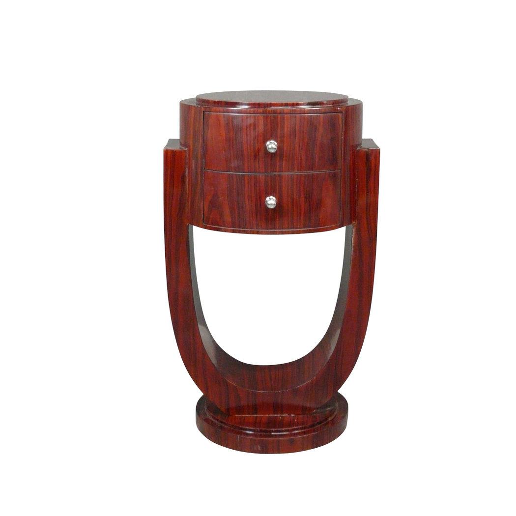 paire de chevets art d co en palissandre meuble art deco. Black Bedroom Furniture Sets. Home Design Ideas