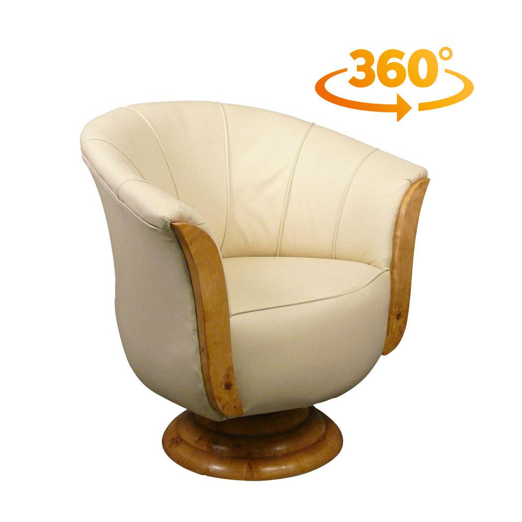 fauteuil art dco tulipe - Fauteuil Art Deco