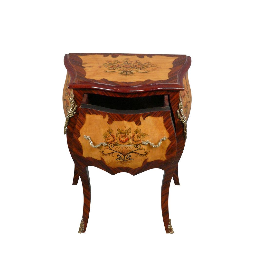 Petite commode louis xv meuble de style for Petite commode rangement
