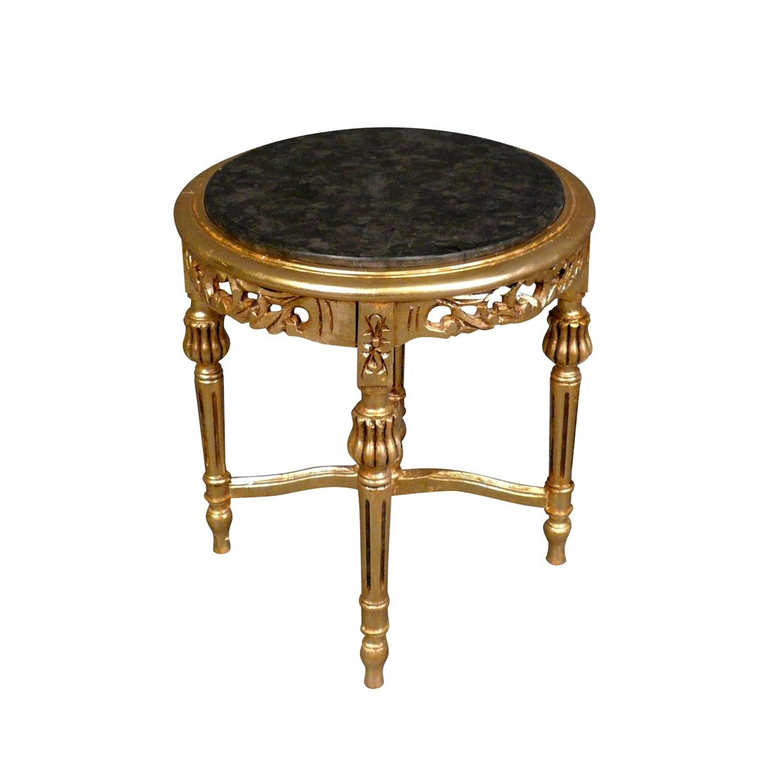 sellette petite table baroque ronde en bois dor meubles baroques. Black Bedroom Furniture Sets. Home Design Ideas