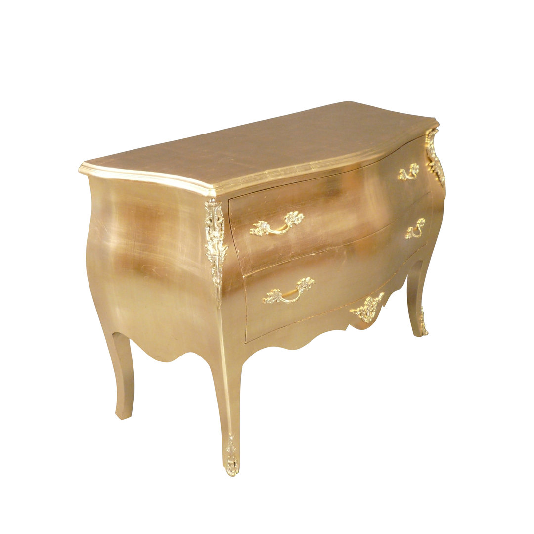 Commode baroque dor e meuble baroque for Meuble baroque