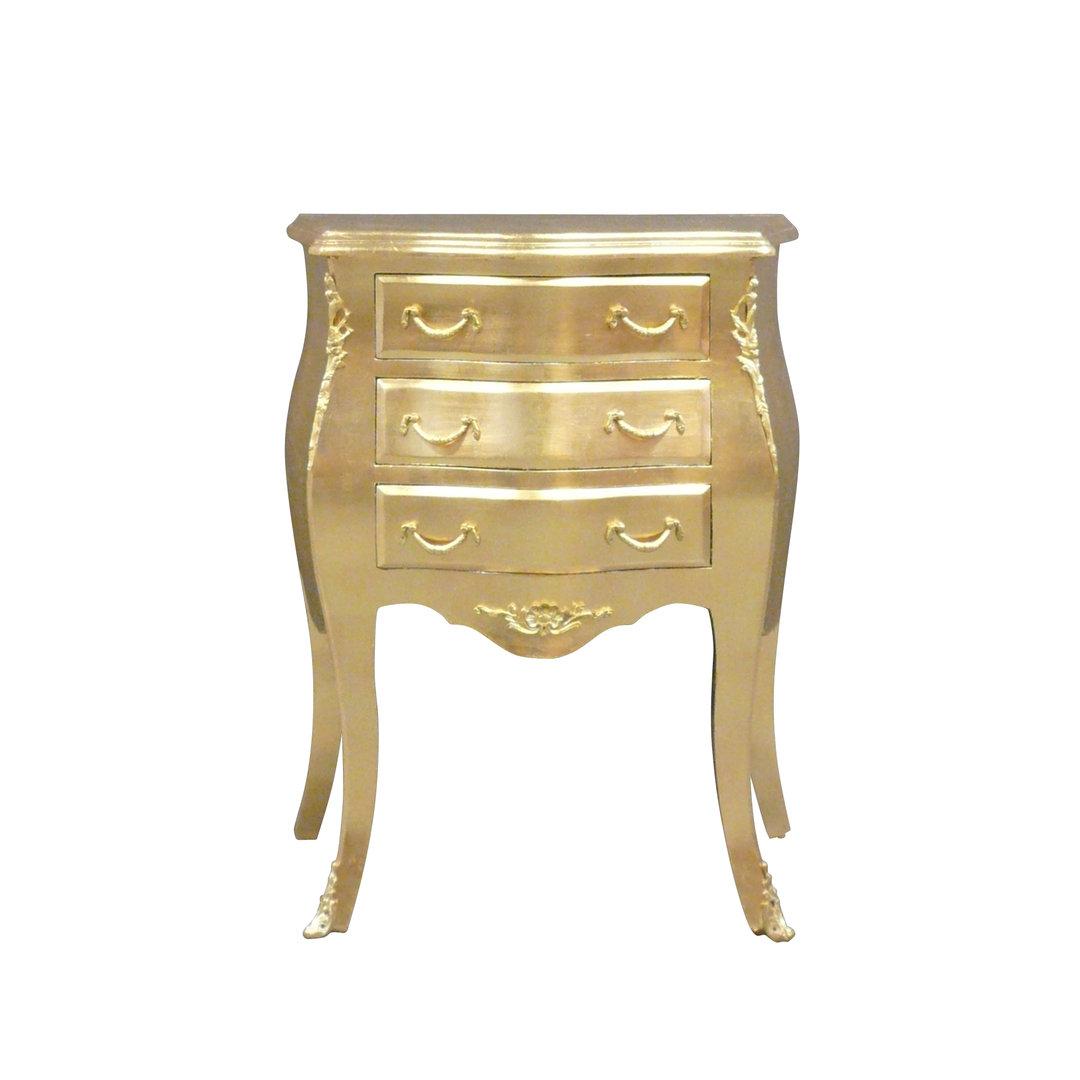 Petite commode baroque dor e meubles baroques for Petite commode rangement