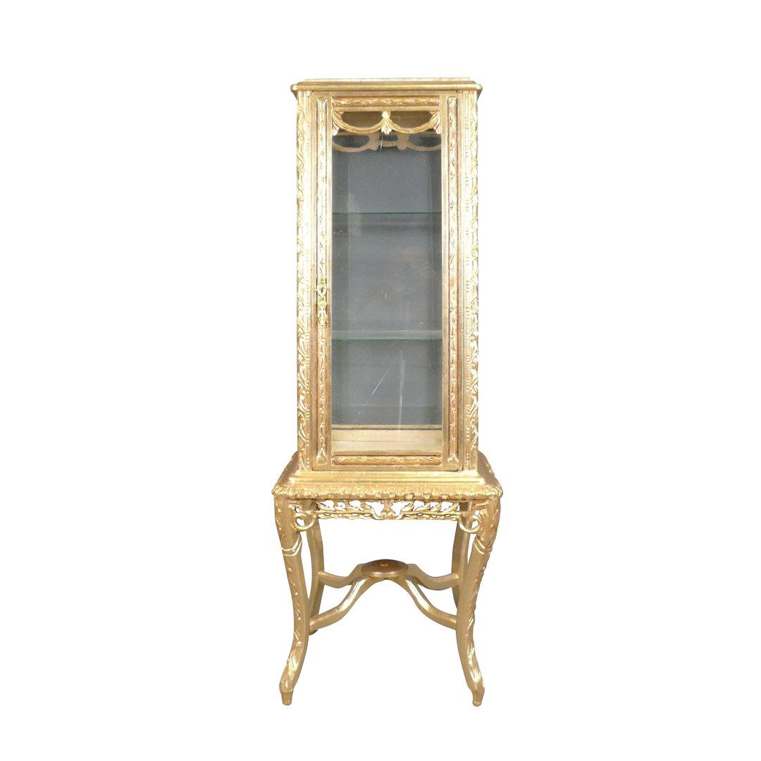 vitrine baroque meuble baroque. Black Bedroom Furniture Sets. Home Design Ideas