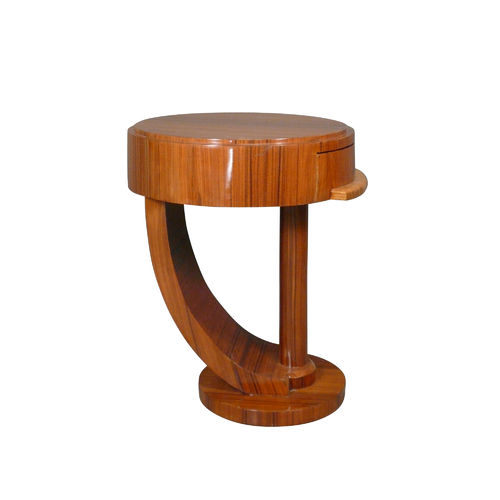 Art Deco bedside table in rosewood