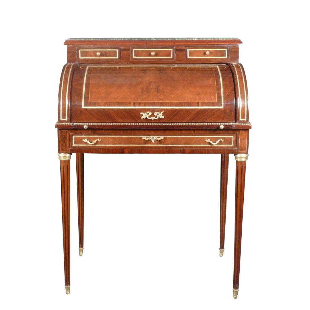 bureau cylindre style louis xvi meubles de style. Black Bedroom Furniture Sets. Home Design Ideas