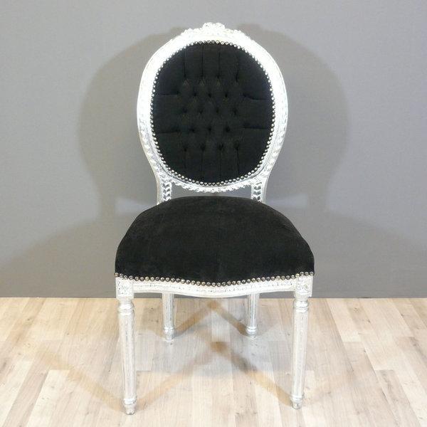 Galerie photos meuble art d co lampe tiffany chaise - Chaise baroque noir ...